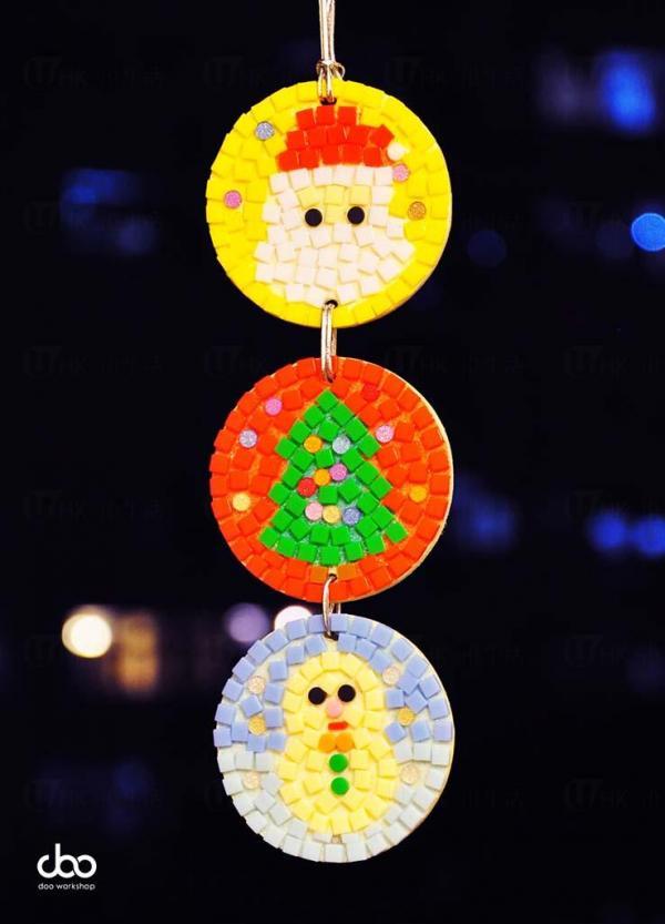 聖誕手作創意工作坊將於每日教授制作不同的聖誕裝飾