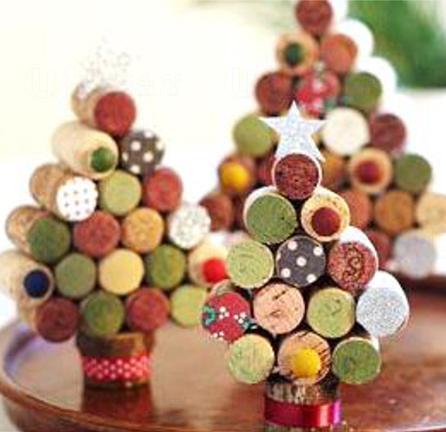 紅酒水松塞聖誕樹