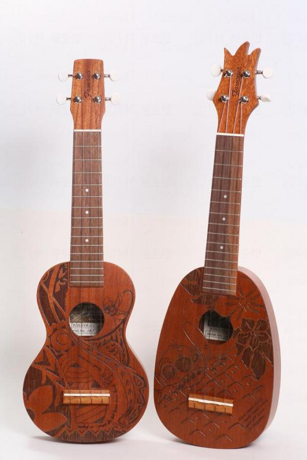 史廸仔10周年限量版ukulele,全球限量300套。