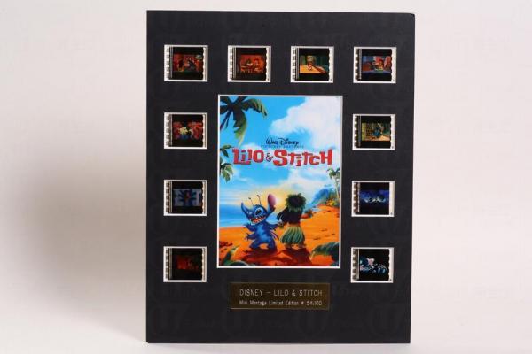 2002年,史廸仔上映完畢後,廸士尼將電影的播放母片收回,並將當中最經典場面的菲林片剪下,製成這件紀念品,全球限量100份,極之珍貴。