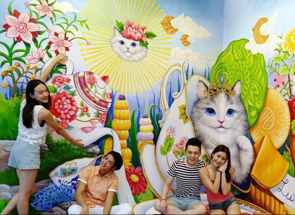 香港特麗愛3D美術館開幕 港人半價入場(圖:FB@Trick Eye)