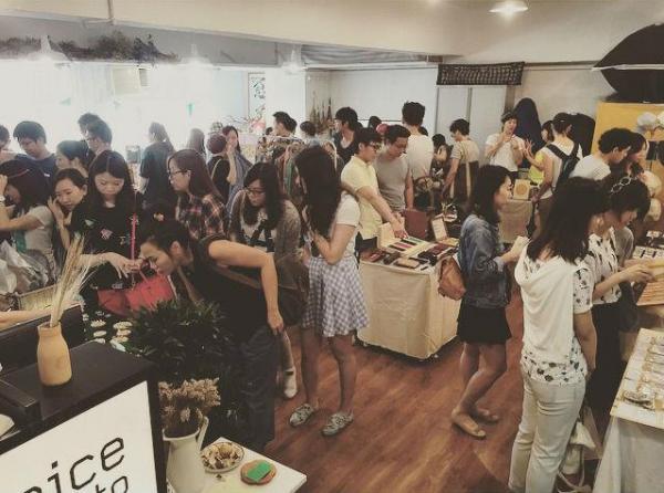 小生活市集 Little Market (6月份市集) (圖:FB@ A nice place to)