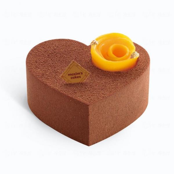 心有所屬Chocolate Heart Mini ($108)