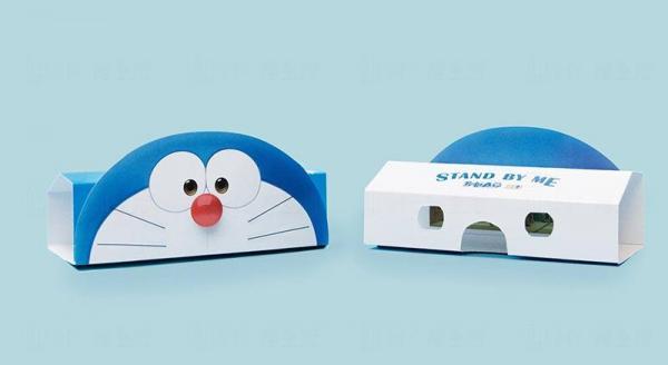 多啦A夢3D 立體視鏡(藍/白)$50