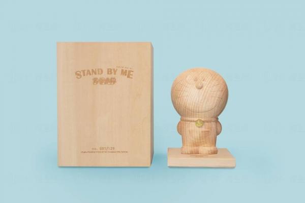 10木製3D多啦A夢Figure HK$1500