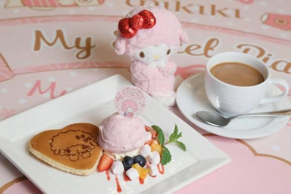 My Sweet Piano鮮菓雪糕熱香餅套餐 @Panash Bakery & Café $68