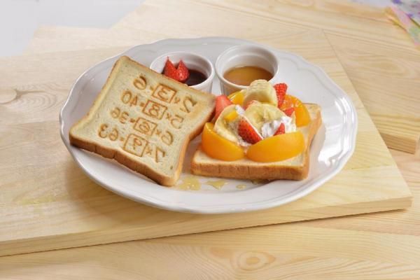 記憶麵包水果風甜食盤$58