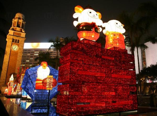 春節專題綵燈展《亞裔囍相逢》 來源:政府新聞網