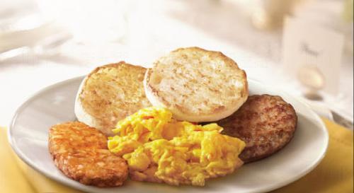 麥當勞早晨全餐及薯餅 周日全日供應