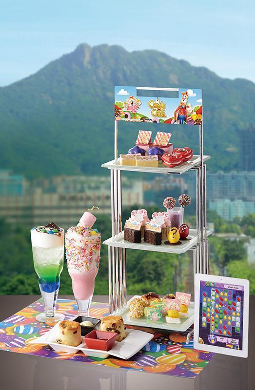 帝京酒店x Candy Crush 甜蜜大冒險下午茶