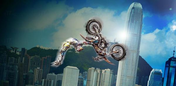 「Red Bull X-Fighters Jams」   4 .4中環海濱上演