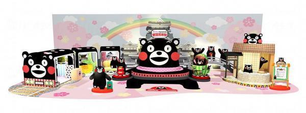 全港首個以熊本縣及Kumamon主題大型裝飾,景點包括日本三大名城之一的熊本城、更有熊本溫泉及遊客必坐之熊本城市列車