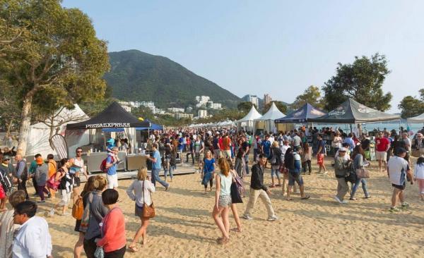 上屆保誠香港沙灘欖球賽相片 圖:The Hong Kong Beach 5s facebook