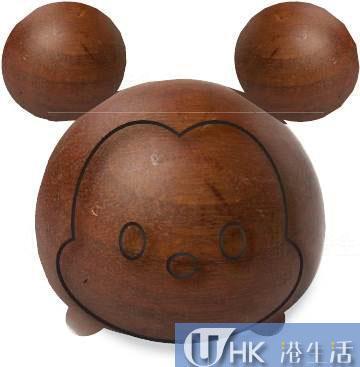限量300隻米奇原木擺設連原裝木盒包裝及產品序號 (另設米妮、小熊維尼及唐老鴨款式) 售價: HKD1,200