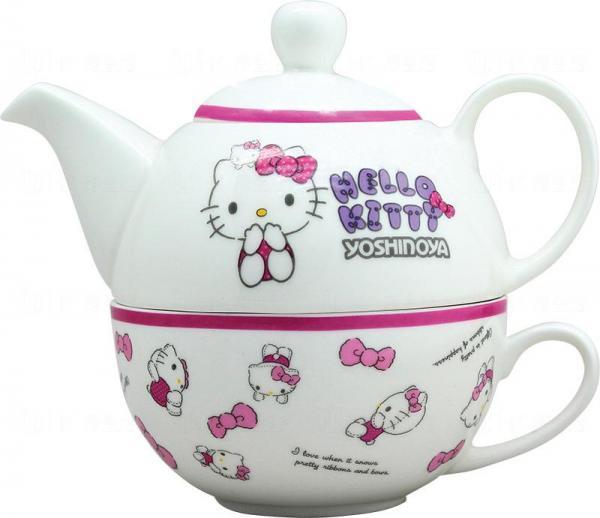 Hello Kitty茶壺套裝