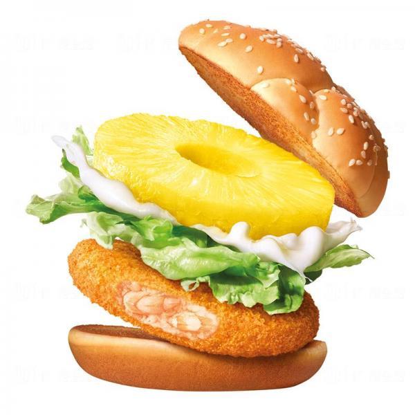 「菠蘿滋味蝦堡」