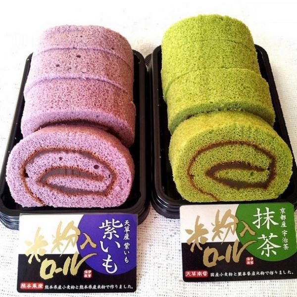 citysuper 四國九州食品展 令人流口水的紫薯味卷蛋 (圖:IG@pinginlife)