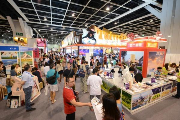 (香港國際旅遊展2014公衆日盛況 圖: 香港國際旅遊展)