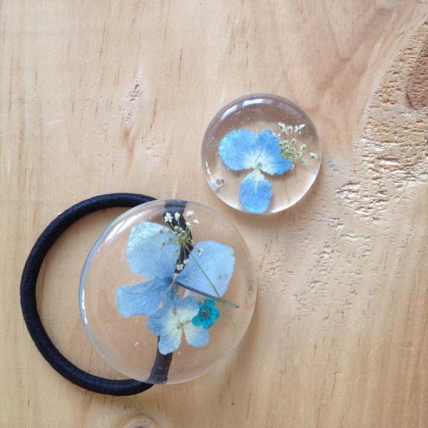 押花水晶滴膠課程 製作獨一無二飾物