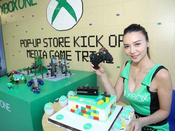Xbox x AA Place Pop-up Café  Xbox蛋糕吞落肚(圖:官方提供)