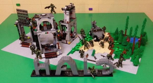 Halo戰爭場景 (圖:官方提供)