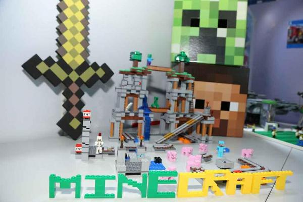 Minecraft場景(圖:官方提供)