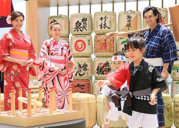 海港城清酒文化祭  免費玩日式傳統遊戲