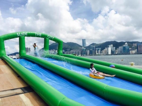 Slide the City將於2015夏天來到香港