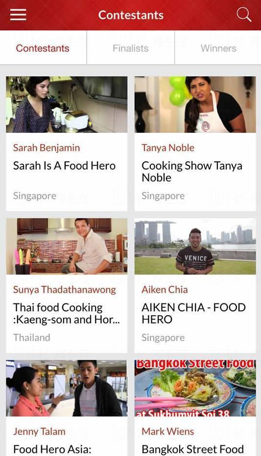 手機程式Food Hero