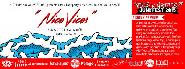 迎接Summer NICE VICES水上派對  (FB@Nice n Nastie)