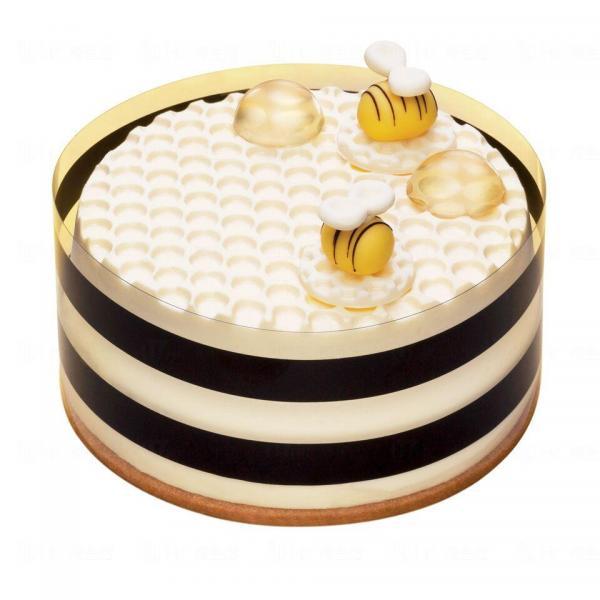 蜂味芝戀慕絲蛋糕 Honey Bee Mousse Cake