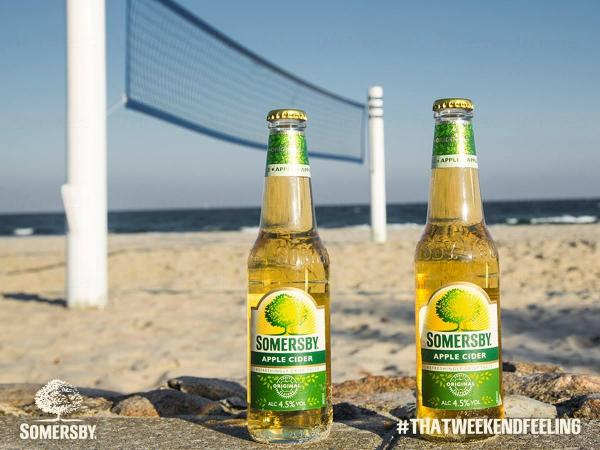 Somersby Weekend Truck巡遊香港 街頭派蘋果酒(圖:FB@Somersby HK)