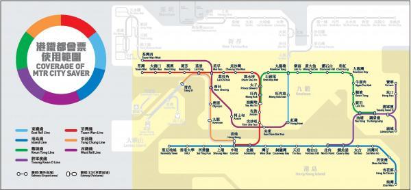 延長都會票優惠 (圖:MTR官網)