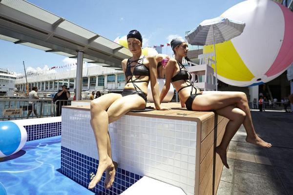 海港城超寫實雕塑藝術展 (圖:官方提供)