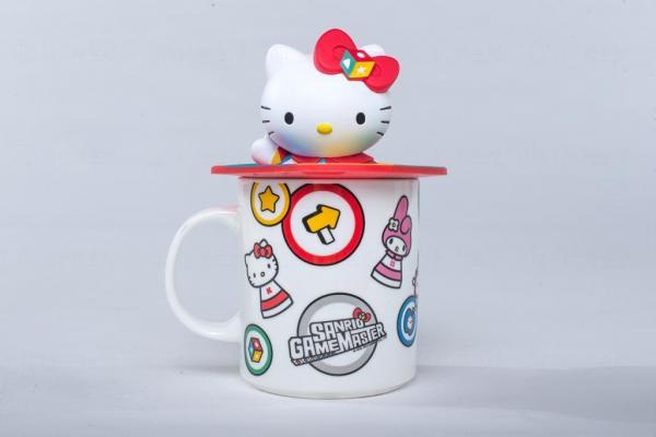 Hello Kitty杯連3D杯蓋