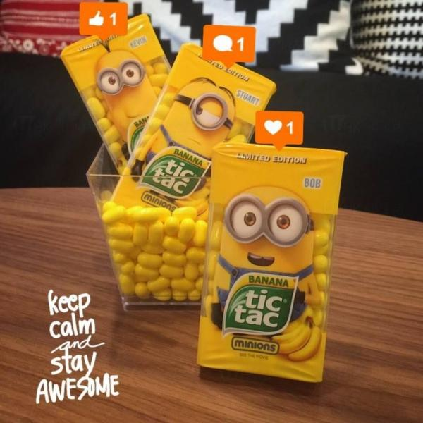 7-Eleven推出Minions tic tac糖(圖:7-Eleven Hong Kong)