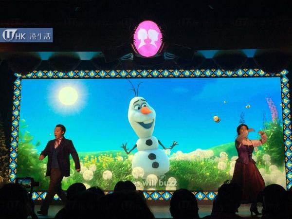 《魔雪奇緣》「夏雪節盛演」音樂劇