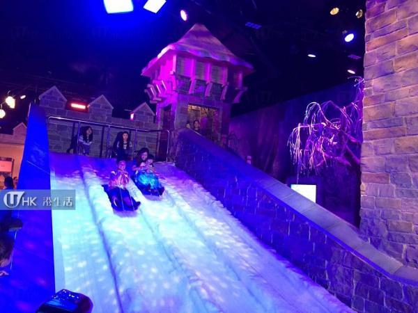 「夏雪節廣場」冰雪活動體驗