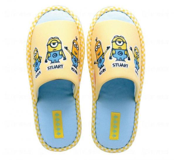 Minions室內拖鞋 ($109 9折)