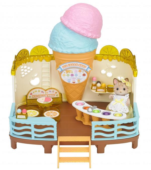 森林家族「海邊雪糕屋套裝」玩具套裝