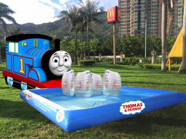 Thomas & Friends主題充氣水池