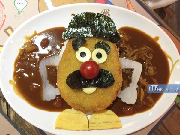 薯蛋頭Cafe限定餐牌