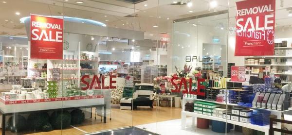 Francfranc又一城店搬遷大減價 低至6折 (圖: FB@Francfranc)