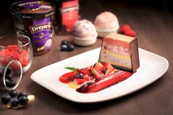 Berry Ice-cream Patisserie