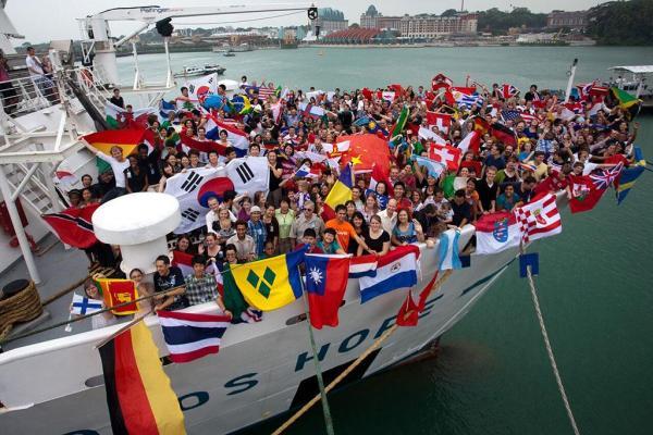 海上圖書館「望道號」再來港 可當船員一天