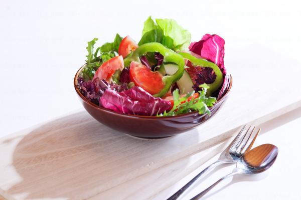 有機生菜沙律