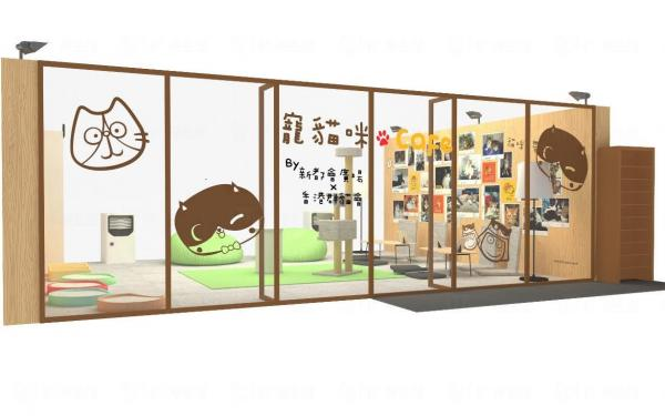 全港首個商場「貓Café」寵貓咪‧愛領養Café