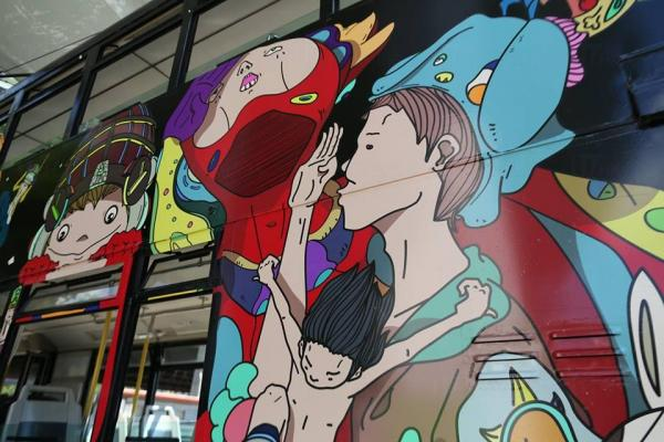 叮~叮~動漫都市電車遊(圖:fb@Hong Kong Arts Centre )