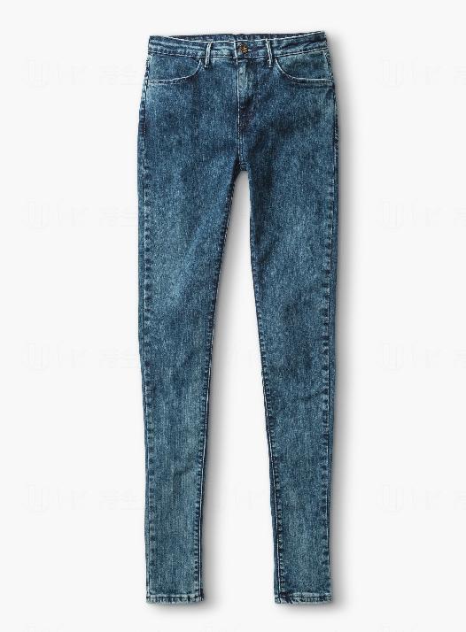LEVIS女裝深藍色洗水貼身牛仔褲