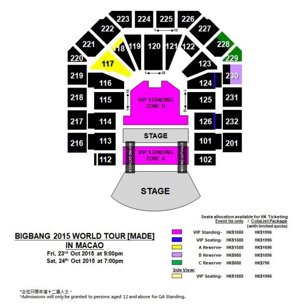 BIGBANG 10月舉行首次澳門演唱會!